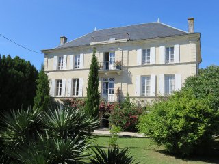 Chateau de Rochebonne: big house with private pool & grounds - Saint Just Luzac vacation rentals