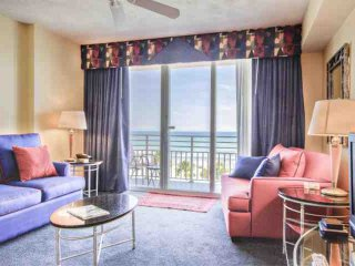 Ocean Walk Resort 1BD Direct Ocean Front, Amazing View! Remodeled, New Furniture! Sleeps(5)Free WiFi - Daytona Beach vacation rentals