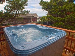 Short Walk to a Sandy Beach!  Ocean View Deck! - Waldport vacation rentals