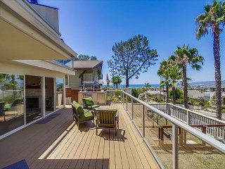 20% OFF DEC - Luxury ocean view home w/private pool, hot tub & spacious yard - Mission Beach vacation rentals