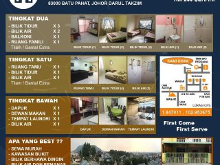 Nice House with Balcony and Satellite Or Cable TV - Batu Pahat vacation rentals