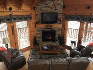 Happy Trails II Log Cabin in Bear Creek Crossing - Pigeon Forge vacation rentals