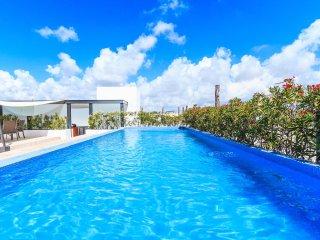Ocean Views, off 5th Ave - Condo Infinito 105 - Playa del Carmen vacation rentals