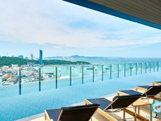 THE BASE,30tht floor 2BD with stunning views!!! - Pattaya vacation rentals
