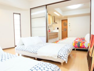 5 minute walk from Namba/Dotonbori! M2-501 - Osaka vacation rentals