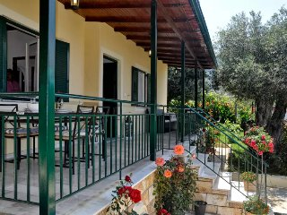 Luxury Seaside Aprt for 6-7p. 60met from the beach - Agios Gordios vacation rentals