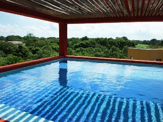 Tranquil Penthouse in Sian Kaan Complex within Playacar - Playa del Carmen vacation rentals