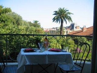 View over mediterranean gardens in heart of Nice - Nice vacation rentals