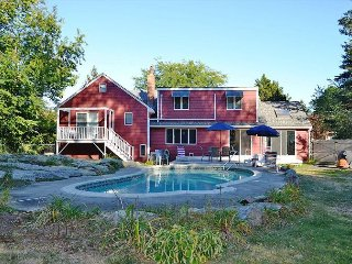 Poolside Summers: Swim in the private in-ground pool or walk to the beach - Rockport vacation rentals