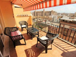 Nice penthouse with terrace and cityviews - Zufre vacation rentals