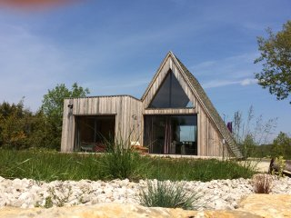Wooden Ecolodge & shared Pool, South West France - Saint-Martin-Labouval vacation rentals