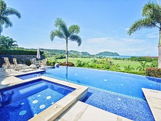 Spacious private home w/unmatched ocean & sunset views-private pool & jacuzzi - Herradura vacation rentals
