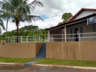 Nice House with Swing Set and Microwave - Cachoeira Dourada vacation rentals