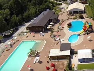 Chalet Camping Class driect at lake Eupilio como Italië with swimming pool - Eupilio vacation rentals