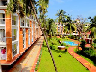 2BHK Apartment In Candolim CM011 - Candolim vacation rentals