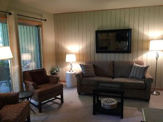 Lovely wooded condo in the woods - Watch deer from the living room - Oretech vacation rentals