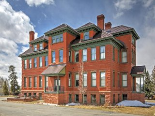 New Listing! Classic 2BR Leadville Condo w/Wifi, Panoramic Mountain Views & Historic Setting in a Converted 1880's Hospital - Close to Downtown, Hiking, Golf, Outdoor Activities & Major Ski Areas! - Leadville vacation rentals
