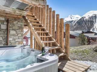 Nice Chalet with Internet Access and Hot Tub - Val d'Isère vacation rentals