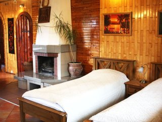 Pokoje Kaja -room with fireplace -Suwalki Szelment - Jeleniewo vacation rentals