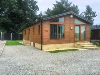 TREE TOPS, high quality lodge, all ground floor, parking, garden, in Coleford, Ref 933221 - Coleford vacation rentals