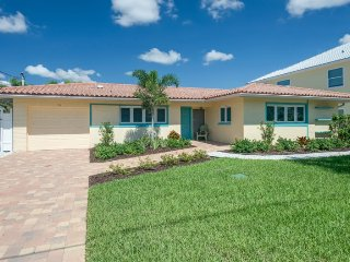 Cute Canal Pool Home. Ground level and Pet Friendly - Brand New Listing - Sandy - Fort Myers Beach vacation rentals