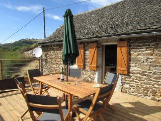 Lovely converted 19th century barn with spa and amazing views - Le Fel vacation rentals