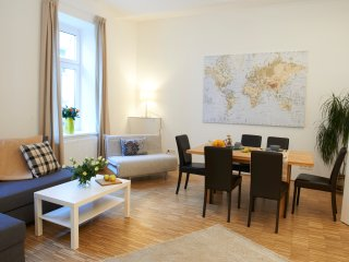 Naschmarkt premium: 2 bathrooms, terrace & central - Vienna vacation rentals