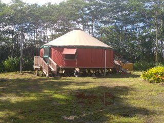 Nice Yurt with Deck and Internet Access - Keaau vacation rentals