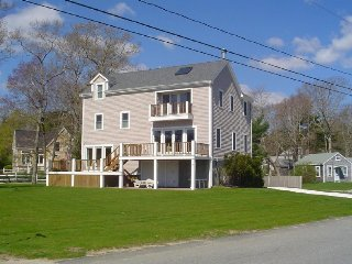 Spacious, Ocean View Home With Adjacent Town Beach - Marion vacation rentals