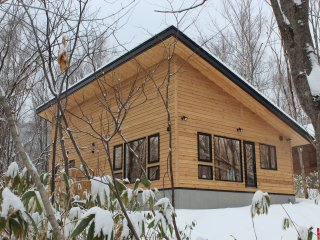 Stylish two-bed cottage in secluded woodland. - Niseko-cho vacation rentals