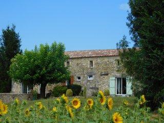 Grande maison avec Piscine Chaufée securisée - Saint Martin de Gurson vacation rentals