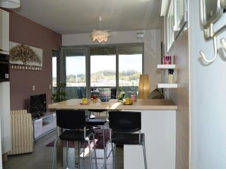 Bright Condo with Television and Microwave - Bayonne vacation rentals