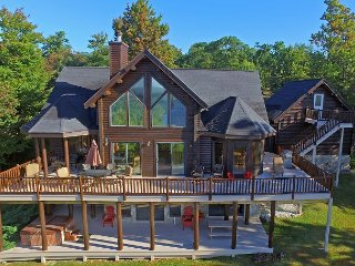 Exquisite 5 Bedroom Log Home offers luxury living in prestigious community! - McHenry vacation rentals