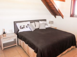 Bedroom with balcony in traditional country house! - Kralendijk vacation rentals