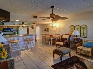 A shared pool & hot tub, across the street from beach access - South Padre Island vacation rentals