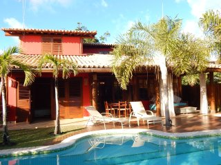 Perfect Villa in Praia do Forte with Deck, sleeps 9 - Praia do Forte vacation rentals