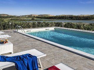Villa Juno holiday vacation villa rental italy, sicily, trapani, pool, view - Paceco vacation rentals