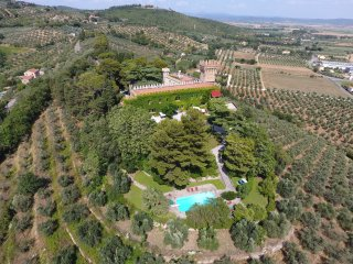 10 Bedrooms Private Tuscany Castle Etruscan Coast - Campiglia Marittima vacation rentals