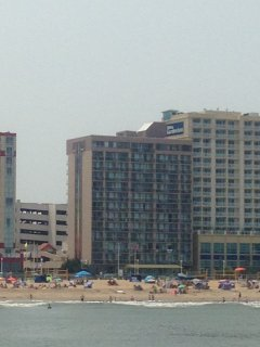 Oceanfront Condo on the Beach at Four Sails Resort - Virginia Beach vacation rentals