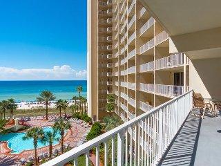 Fall Savings on Gulf Front Luxury Condo w/ Balcony~Pools-Hot Tubs-Sauna+MORE! - Panama City Beach vacation rentals