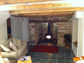 400 year old cottage with huge inglenook fireplace - Cubert vacation rentals