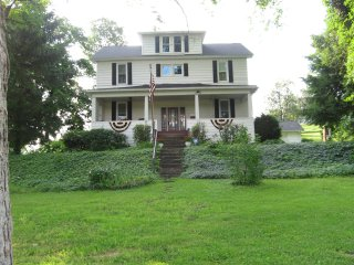 Shoff-Read Century Farmhouse Vacation Rental - Curwensville vacation rentals