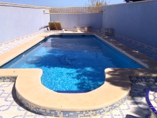 2 Bed Villa + Private Pool - 15 Mins walk to Beach - Playas de Orihuela vacation rentals