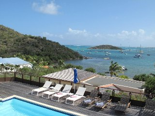 AZUR...4BR located in the French Cul de Sac, facing Pinel Island, St Martin - Cul de Sac vacation rentals