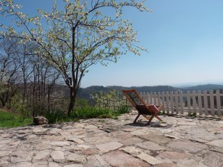 Charm, old stones, magnificent view. Natural pool - Ardeche vacation rentals