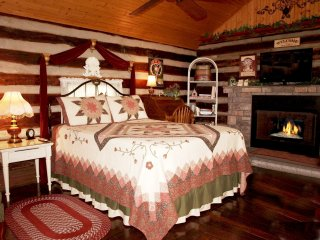 Log Cabin - 1 Bed - Woods Kitchen W/D WiFi Private - Nashville vacation rentals