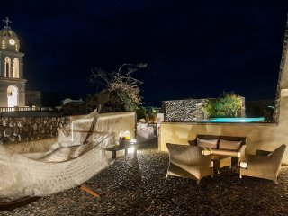 Modern Santorini Villa with Rooftop Terrace and Beautiful Views - Villa Plakoto - Megalochori vacation rentals
