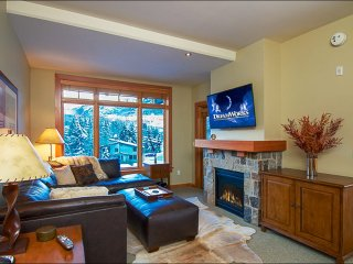 Walk to restaurants and shops - View of Mt. Daly (9284) - Snowmass Village vacation rentals
