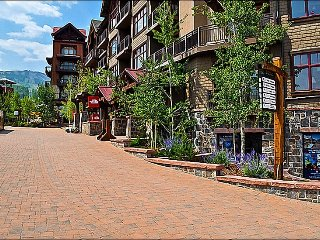 Corner unit facing the slopes - Restaurants, Shops, and Gondola right out the front door (9297) - Snowmass Village vacation rentals