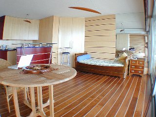 Apartment with balcony, furnished as a boat - La-Baule-Escoublac vacation rentals